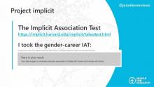 implicit association test